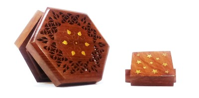 Shared Earth - gold inlay boxed